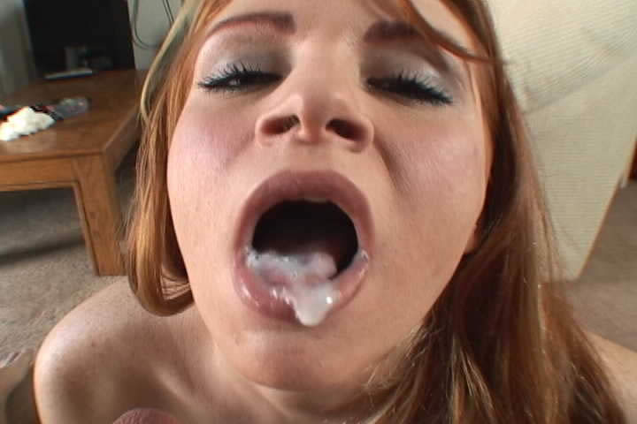 free cum down moms throat