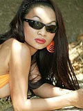 Super hot Asian chick Tailynn gets naked at a cave from Tailynn